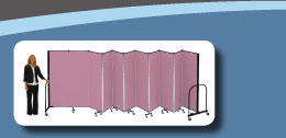 Screenflex Portable Room Divider
