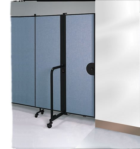 Delicieux Room Divider Swing Style Door On The End Of A Room Divider