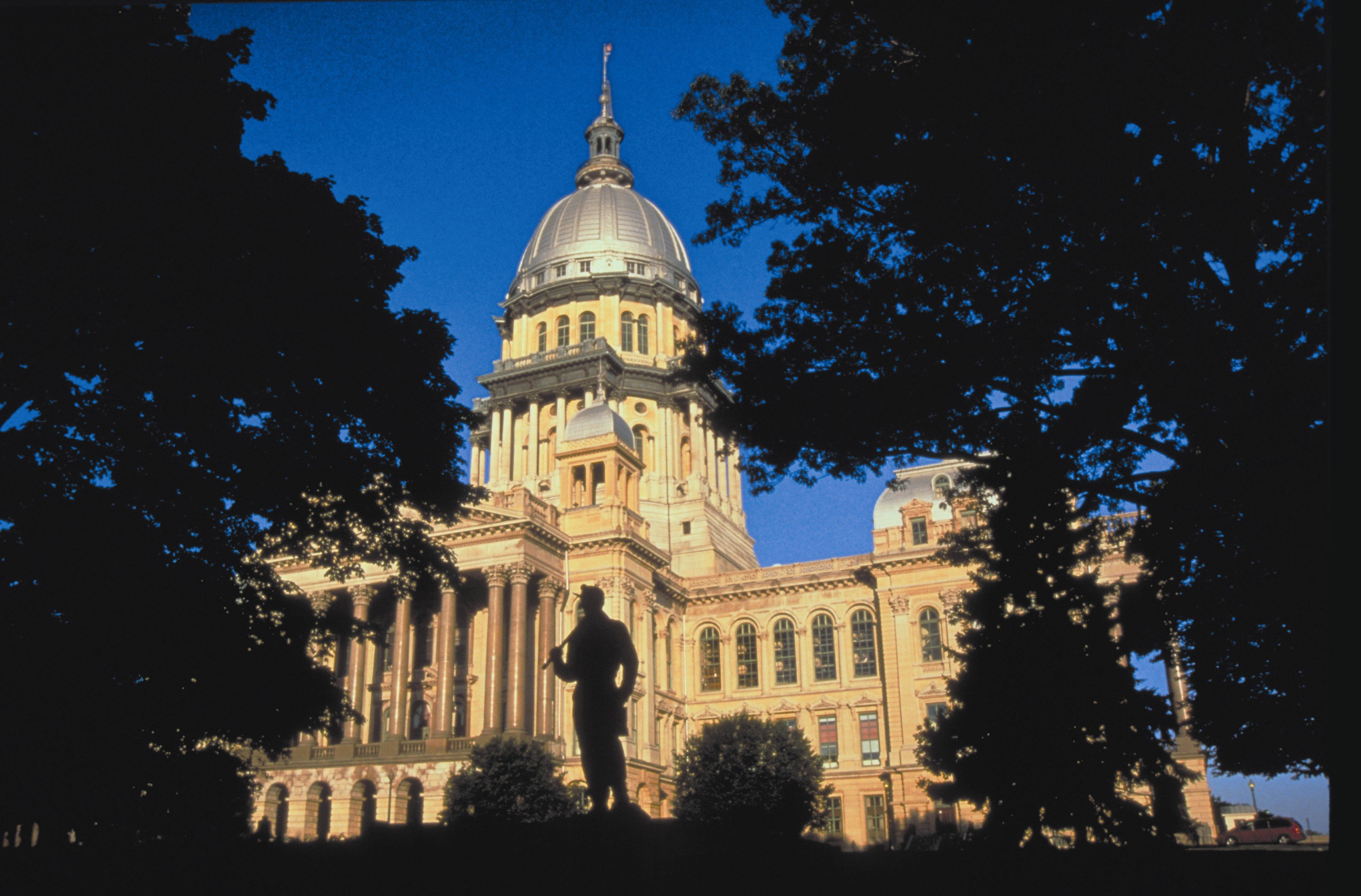 When you explore Springfield, IL be sure to view the state capitol