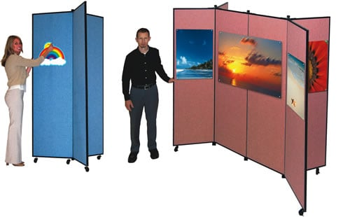 Display Towers - 3 and 6 Panels