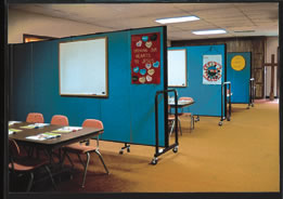 Make your facility do more for you with portable room dividers