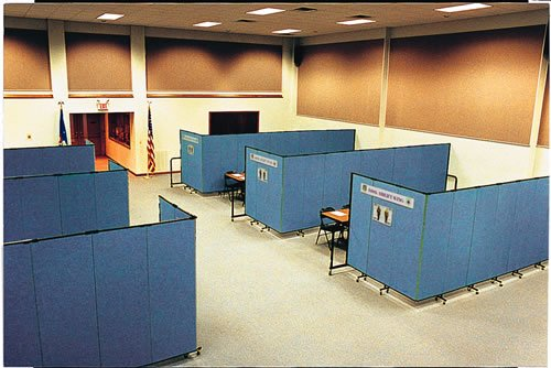 Government Office Training Rooms-Blue