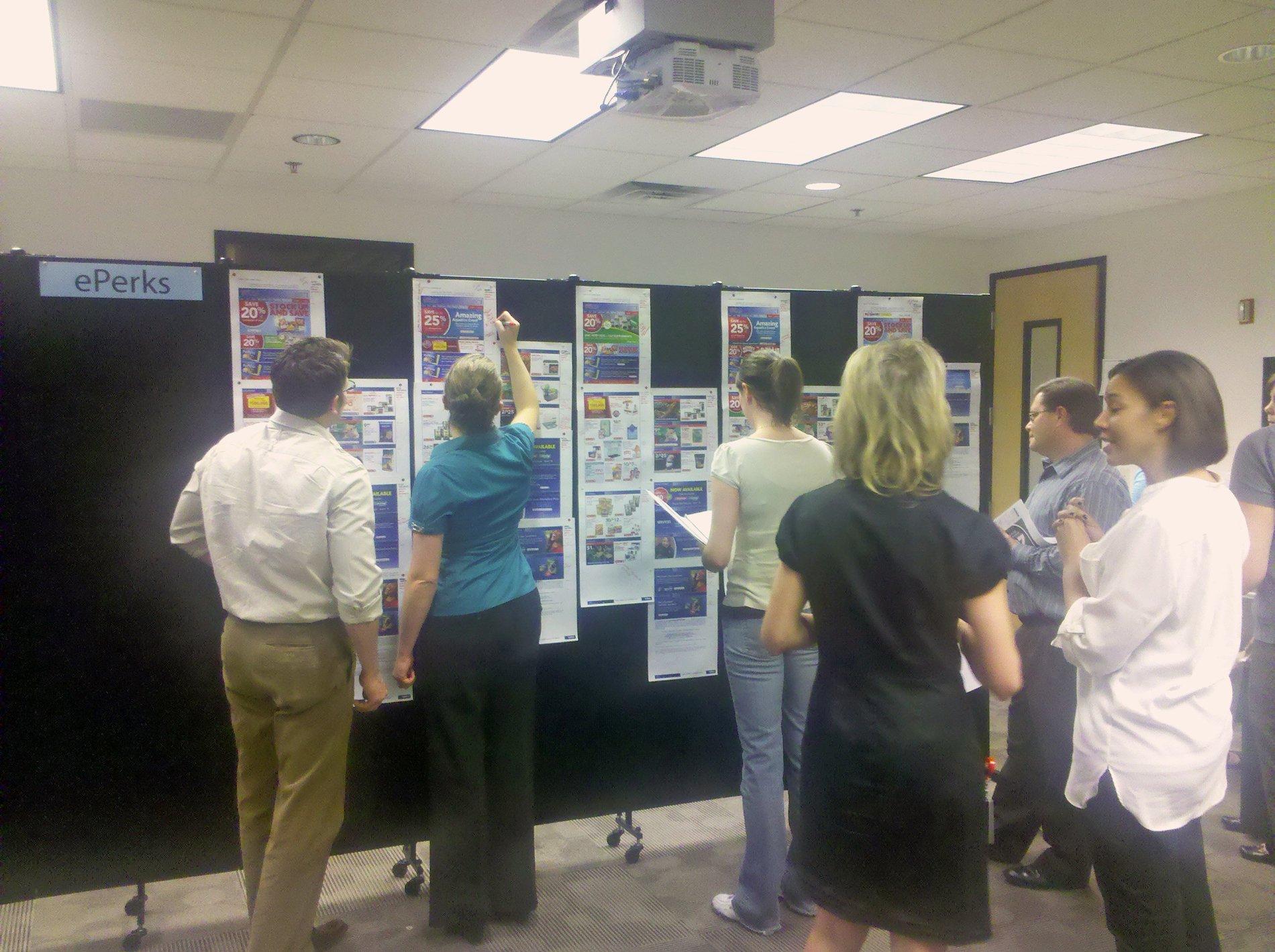 Room Dividers at Petsmart meeting