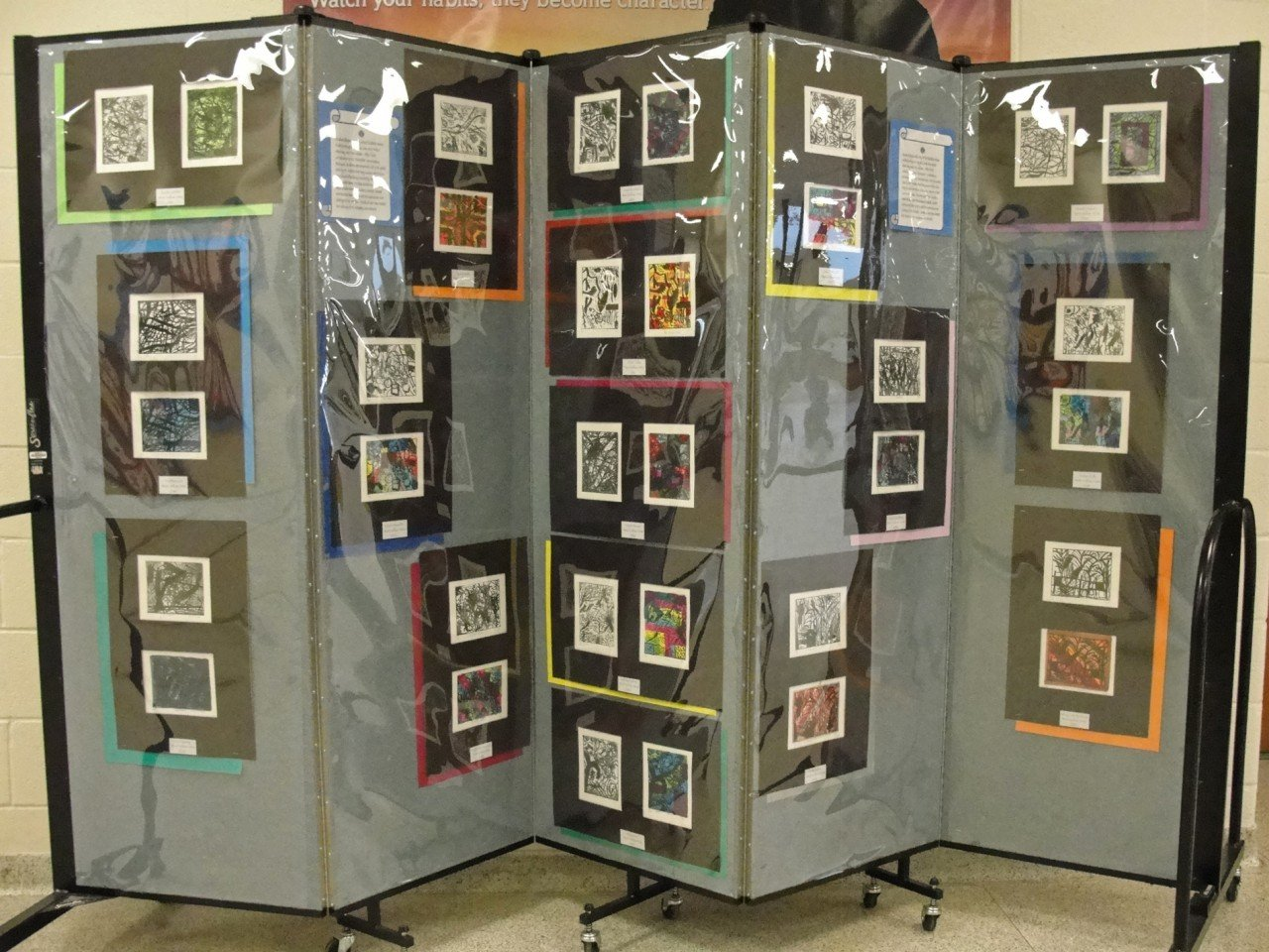 Art Display Panels