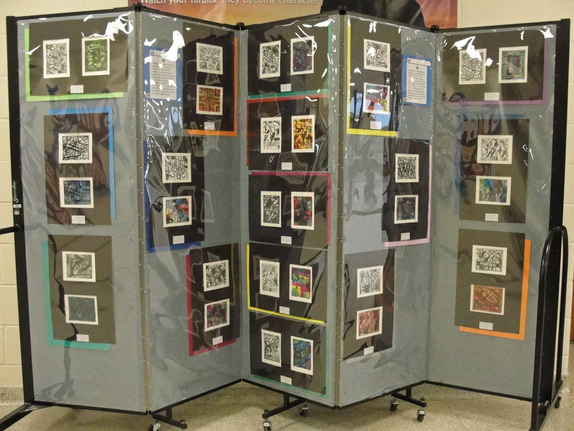 Portable Exhibition Walls : Amazing art display panel walls screenflex portable dividers