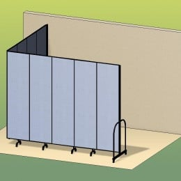 L Shaped Divider Room 3D