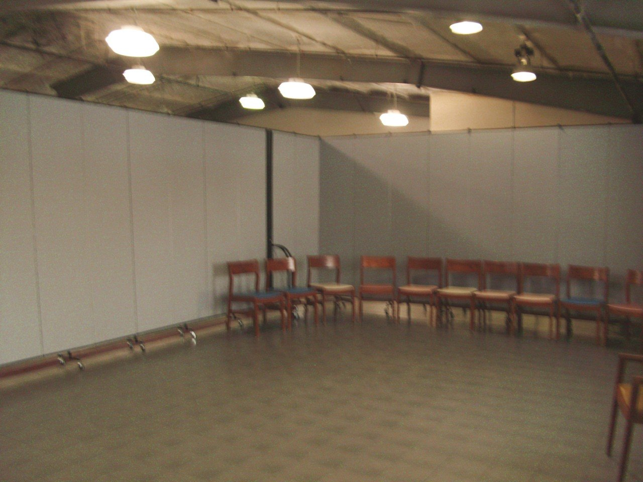 Two Room DIvider set up in a square for children's activities