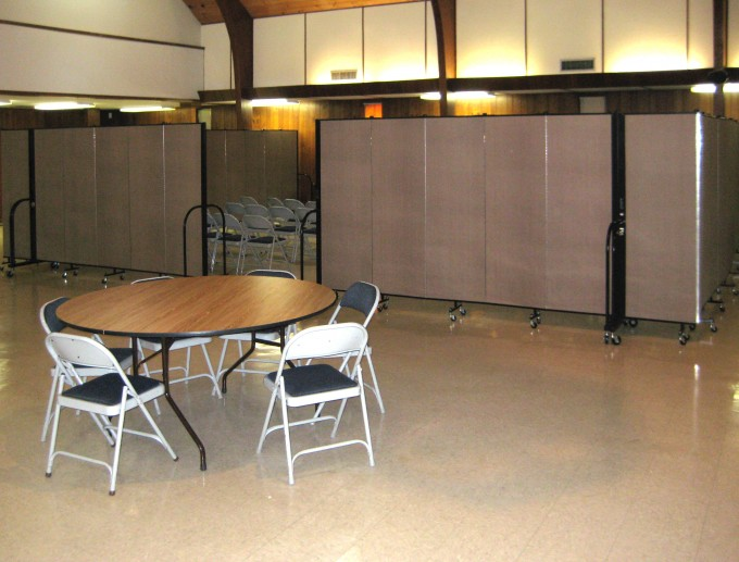 Church Portable Dividers