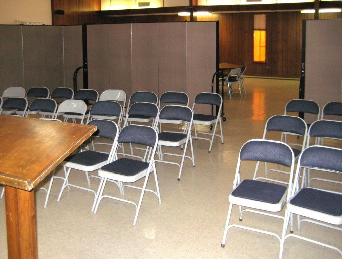 Portable Walls for Church Service