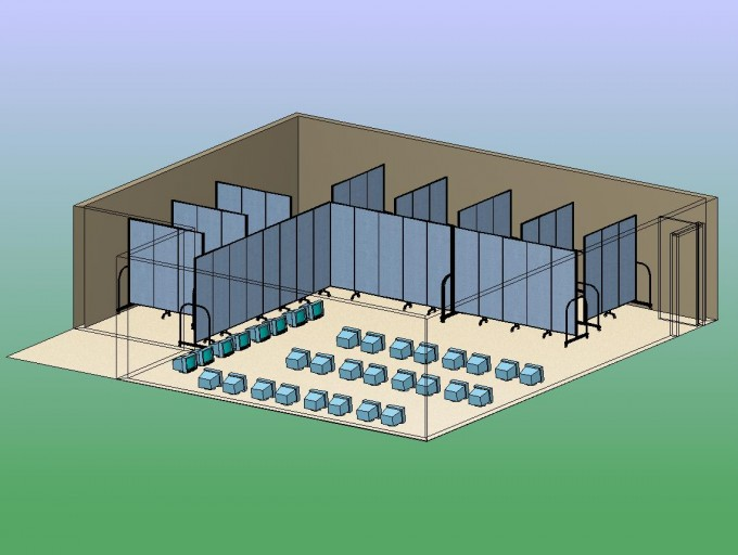 Reservation Center Computer Work Stations