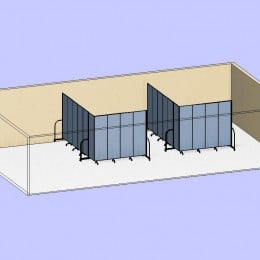 Side by Side Classrooms 3D
