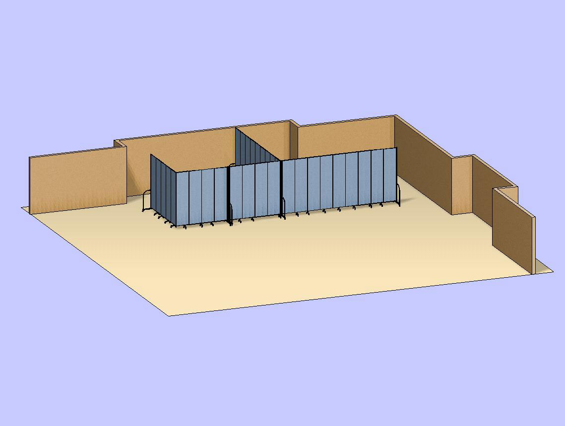 Adjoining Classrooms 3D