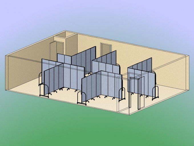 Architects recommend Screenflex Room Dividers for your spacing needs