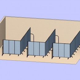 3 L Shaped Classrooms 3D