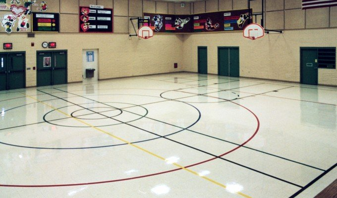 school gymnasium design
