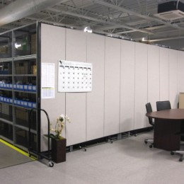 Warehouse Office Divider