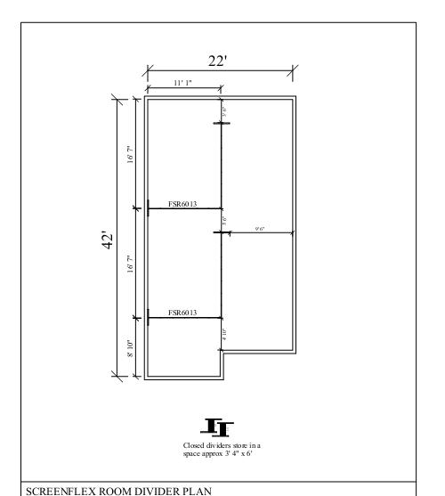 Room Divider Plan