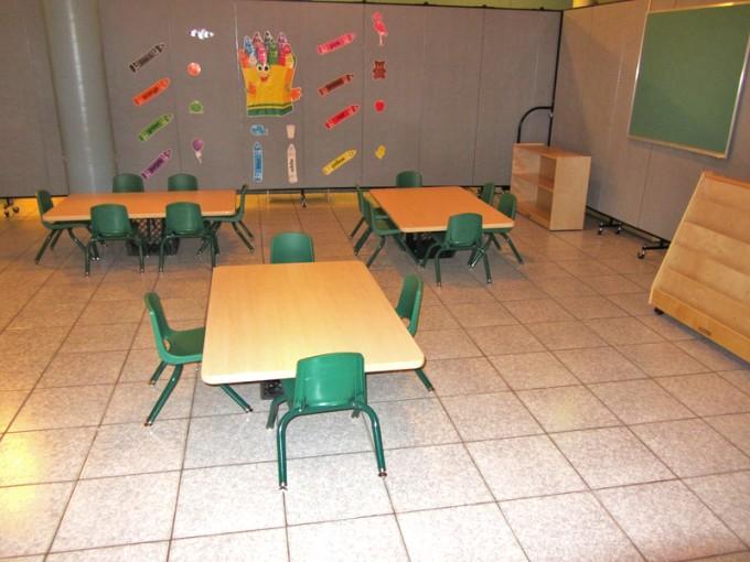 Pre-school Room Dividers