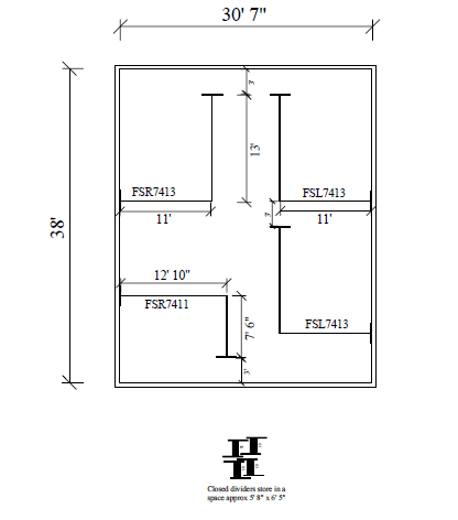 Room Divider Blueprints