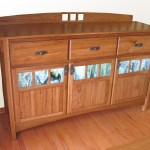 Mission Styled Custom Sideboard