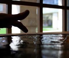 Baptismal pool