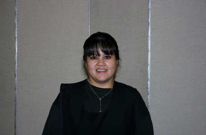 Chela Carransa of Screenflex Production Staff