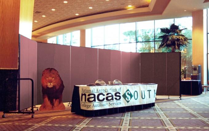 Registration Backdrop for NACAS