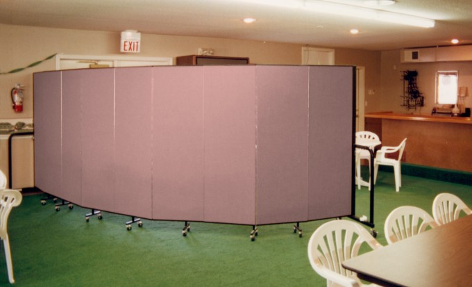 Separate Rooms in a Country Club Banquet Hall