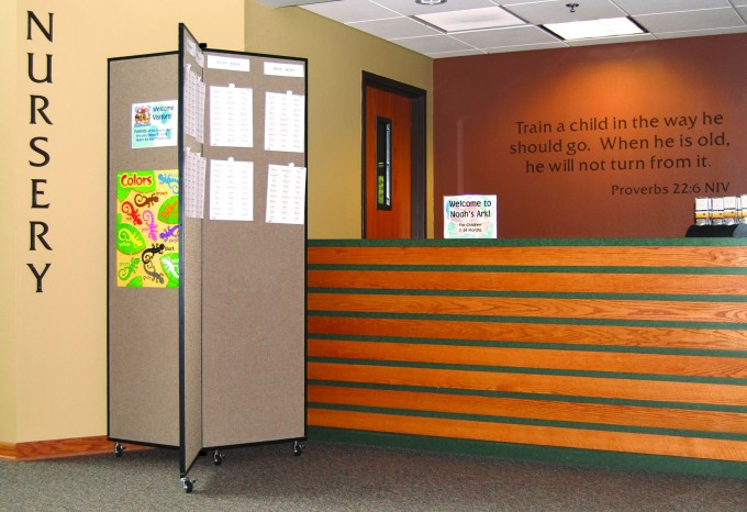 Church Nursery Display Message Boards