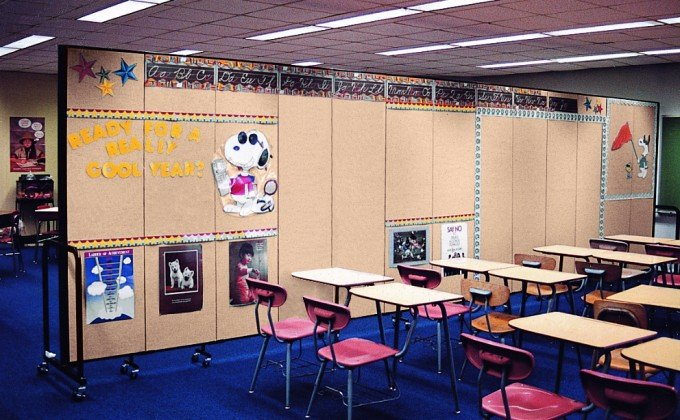 Classroom Portable Room Dividers Screenflex