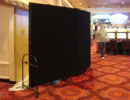 Hit the Jackpot with a Screenflex Portable Temporary Wall