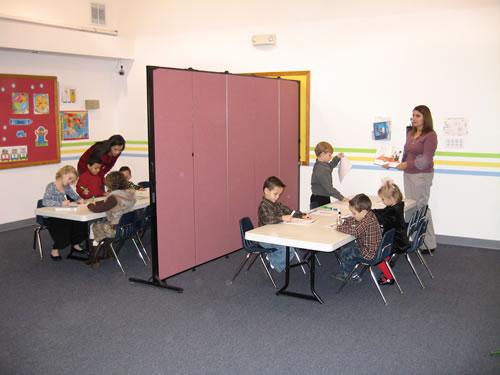 Pre-School Divider