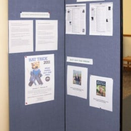 library information display