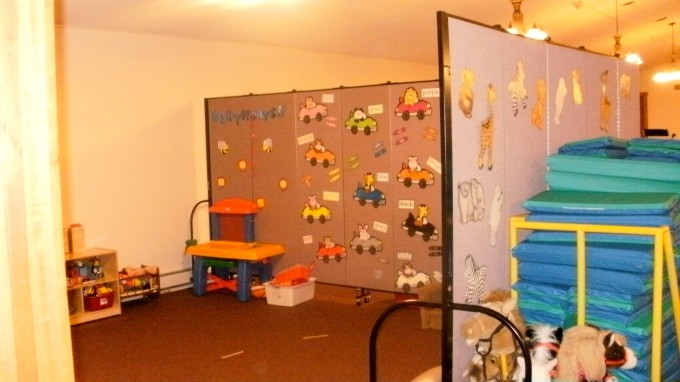 Daycare Center Screen Dividers