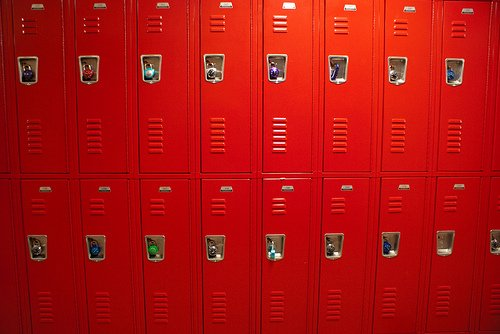 Safety vs Privacy when it comes to school lockers