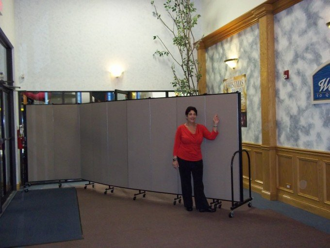 Church Room Divider