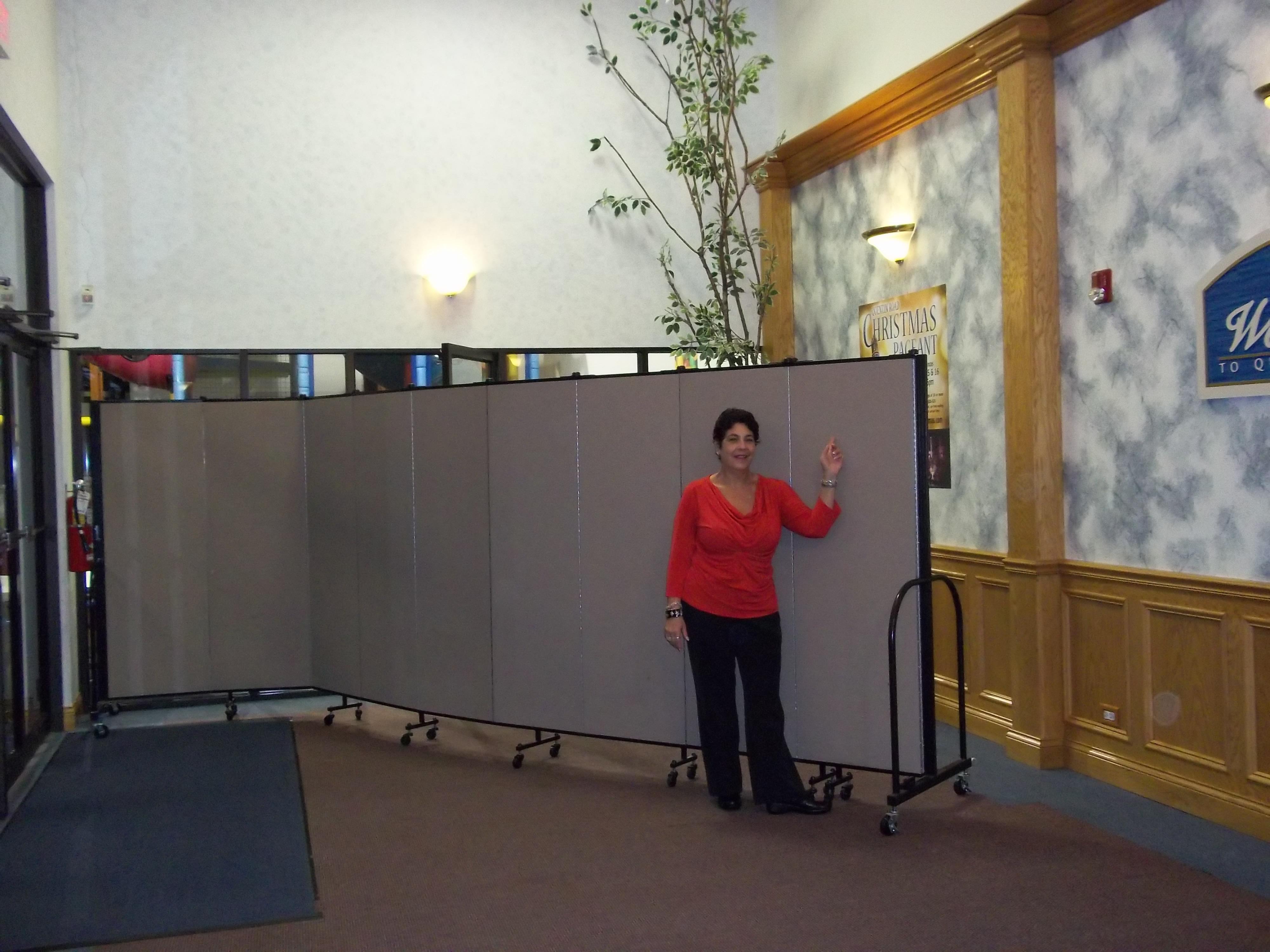 Church Room Divider