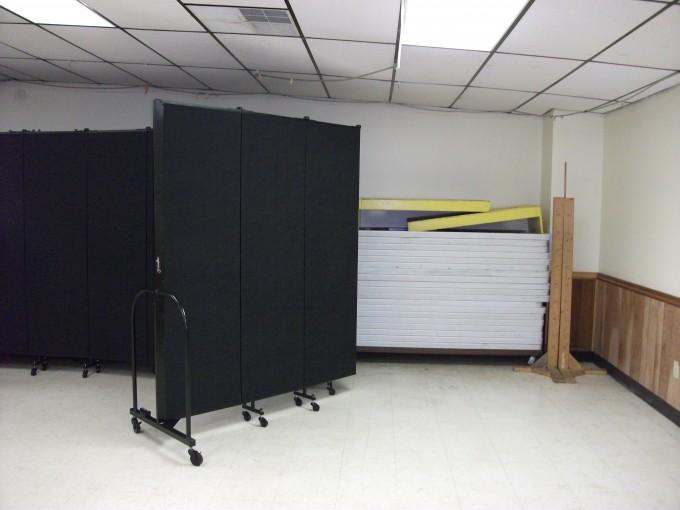 Basement Storage Room Dividers