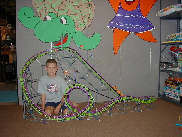 Temporary Walls used in a basement to form a designated and safe play area for kids