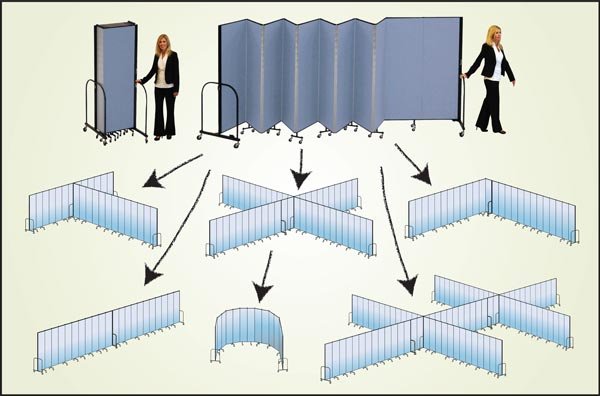 Screenflex Room Dividers Configurations
