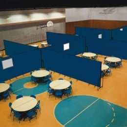 Calvary Baptist Church Offers Great Ways They use Screenflex Room Dividers