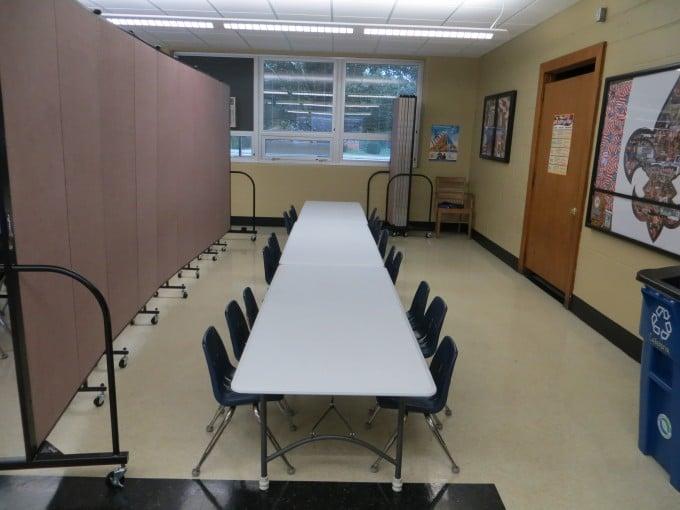 classroom room divider