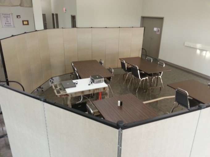 Instant Training Rooms With Room Dividers