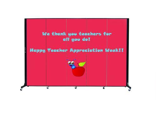 Teach appreciation week sign