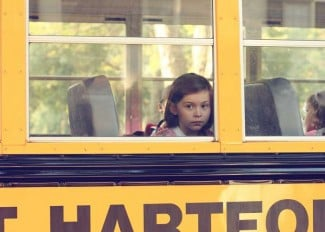 new kid on school bus