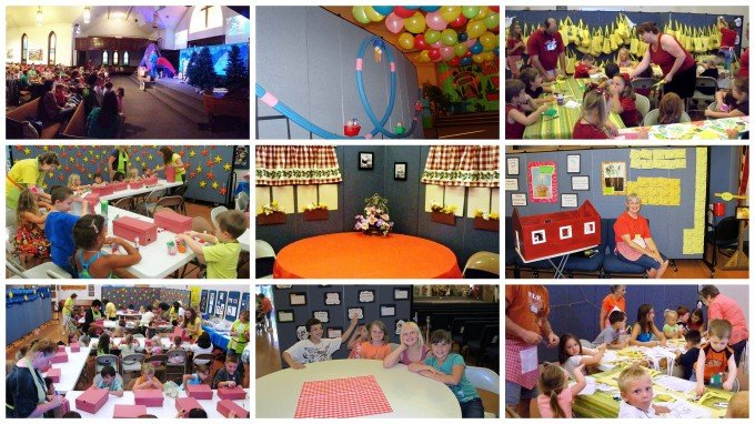 vacation bible school programs using screenflex room dividers