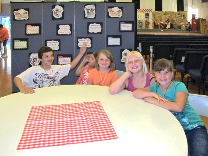 Room partitions for VBS create multiple Classrooms