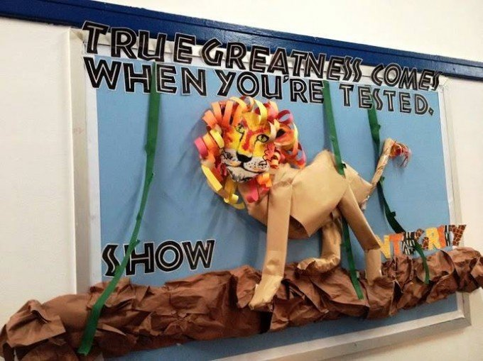 Bulletin board Ideas from Success Academy Charter School