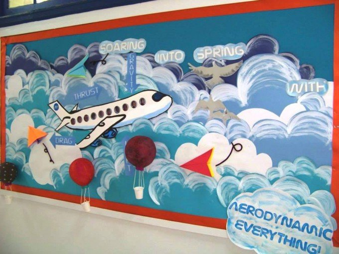 Classroom Mural Ideas ~ Be inspired by this collection of creative bulletin boards