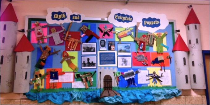 Bulletin board Ideas from Success Academy Charter School